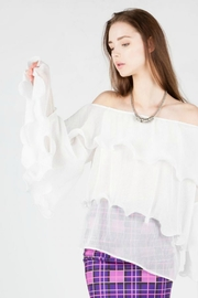 BEULAH STYLE Off Shoulder Blouse - Product Mini Image