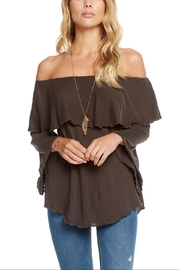 Chaser Off-Shoulder Boho Top - Product Mini Image