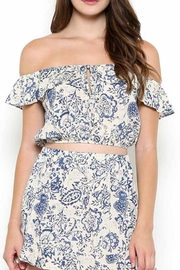 Sole Mio Off Shoulder Crop - Product Mini Image