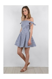 Molly Bracken Off Shoulder Dress - Product Mini Image