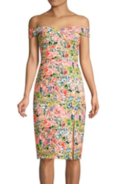 Aidan by Aidan Mattox Off Shoulder Dress - Product List Image