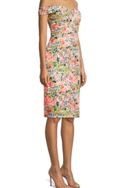 Aidan by Aidan Mattox Off Shoulder Dress - Front full body
