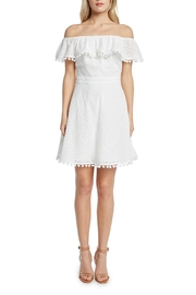 Willow & Clay Off-Shoulder Eyelet Dress - Product Mini Image