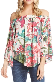 Karen Kane Off Shoulder Floral - Product Mini Image