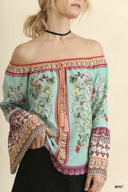 Umgee USA Off-Shoulder Floral Charmer - Product Mini Image