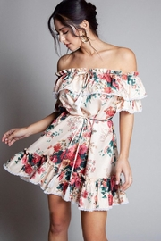 Latiste Off-Shoulder Floral Dress - Product Mini Image