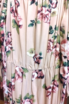 New Mode Off Shoulder Floral Maxi Dress - Product List Image
