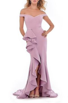 Morrell Maxie Off Shoulder Gown - Product List Image