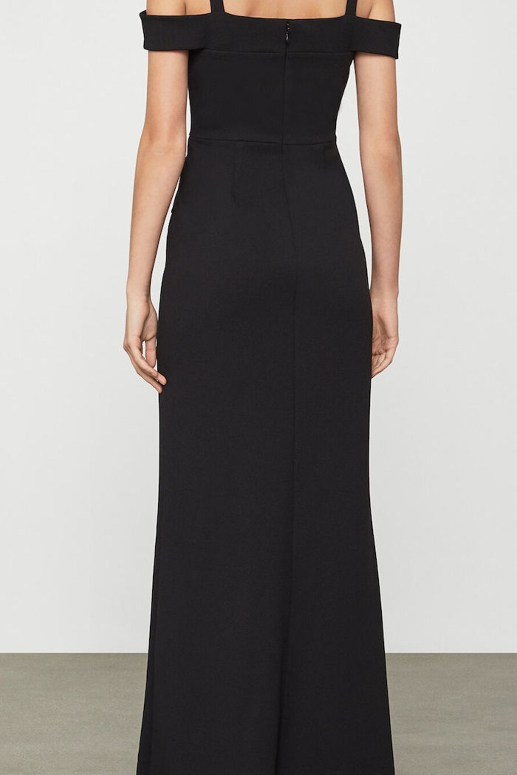 BCBG MAXAZRIA Off Shoulder Gown - Front Full Image