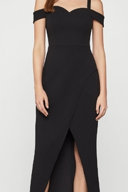 BCBG MAXAZRIA Off Shoulder Gown - Front cropped