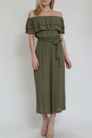 in the Beginning Off Shoulder Jumpsuit - Product Mini Image