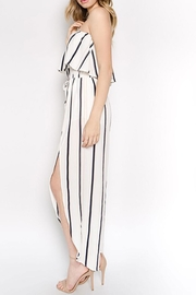 hers and mine Off Shoulder Jumpsuit - Front full body