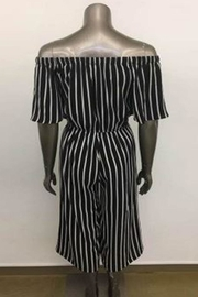 Ambiance Off Shoulder Jumpsuit - Front full body
