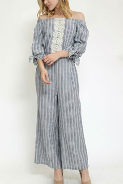 The Clothing Co Off Shoulder Jumpsuit - Product List Image