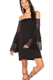 Vava by Joy Hahn Off Shoulder Lace Arm Dress - Product Mini Image