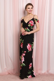 Elegance by Sarah Ruhs Off Shoulder Maxi - Product Mini Image