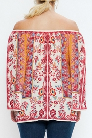 Flying Tomato Off-Shoulder Mixed Floral - Side cropped