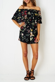 frontrow Off Shoulder Playsuit - Product Mini Image