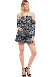 miss avenue  Off Shoulder Romper - Product Mini Image