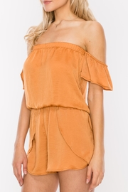 HYFVE Off Shoulder Romper - Product Mini Image