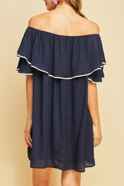 Entro Off-Shoulder Ruffle Dress - Other