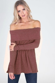 Unknown Factory Off Shoulder Sweater - Product Mini Image