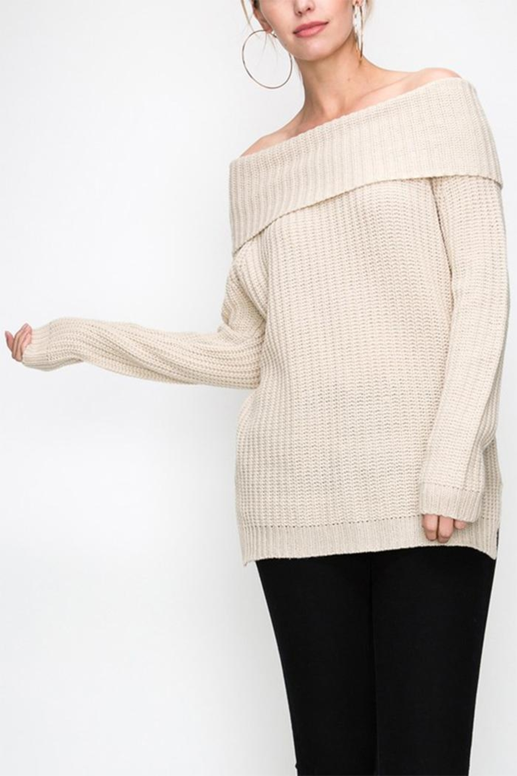b6acc037390cd Favlux Off Shoulder Sweater from New York by Dor L Dor — Shoptiques