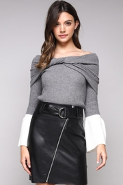 Do & Be Off Shoulder Sweater - Product Mini Image