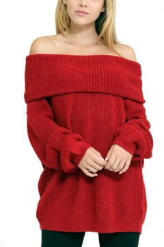 1 Funky Off Shoulder Sweater - Product List Image