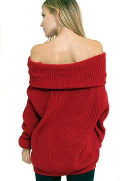 1 Funky Off Shoulder Sweater - Alternate List Image