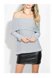 Sugar Lips Off Shoulder Sweater - Product Mini Image