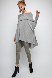 easel Off Shoulder Sweater - Product Mini Image