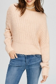 Main Strip Off Shoulder Sweater - Product Mini Image