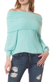 Petalroz Off Shoulder Sweater - Product Mini Image