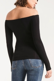 z supply Off Shoulder Tee - Front full body