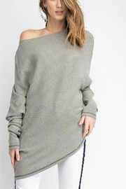 easel Off-Shoulder Thermal Top - Product Mini Image