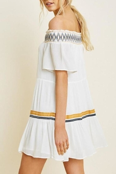 Hayden Los Angeles Off-Shoulder Tiered Swing-Dress - Alternate List Image