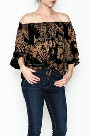 Ariella Off Shoulder Top - Front cropped