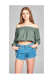 Active USA Off Shoulder Top - Product Mini Image