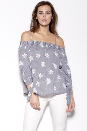 Pink Martini Collection Off Shoulder Top - Product Mini Image