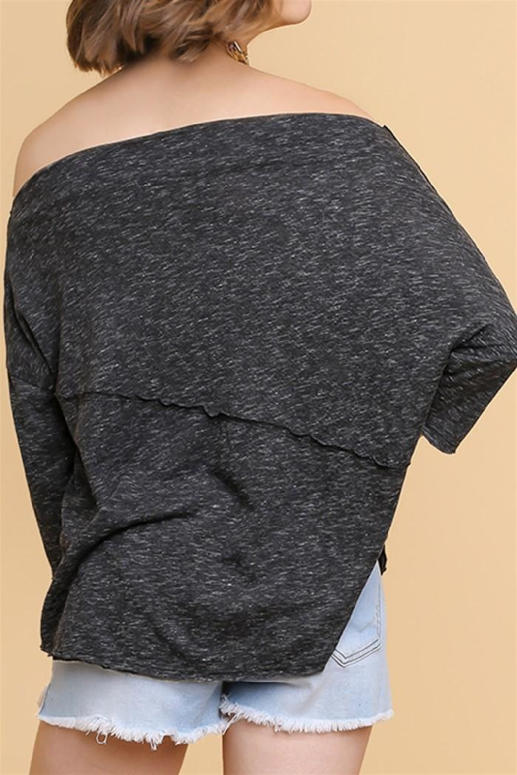 Umgee USA Off Shoulder Top - Front Full Image