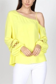 essue Off Shoulder Top - Front cropped