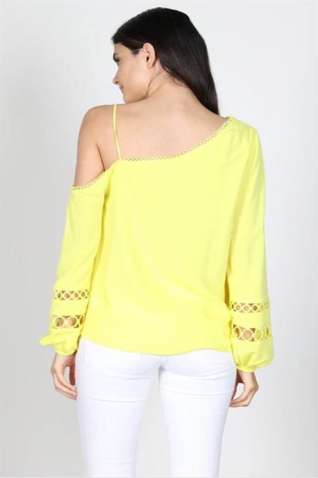 essue Off Shoulder Top - Front Full Image