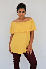 Tasha Apparel Off Shoulder Top - Product Mini Image