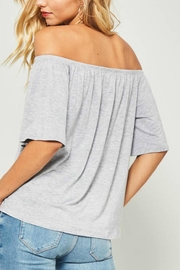 Unknown Factory Off Shoulder Top - Front full body