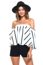 Unknown Factory Off Shoulder Top - Product Mini Image