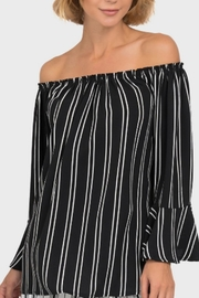 Joseph Ribkoff Off Shoulder Top - Product Mini Image