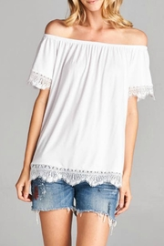Hailey & Co Off Shoulder Top - Product Mini Image