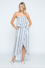 skylar madison Off-Shoulder Tube Midi-Dress - Product Mini Image