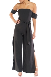 luxxel Off-Shoulder Wide-Leg Jumpsuit - Product Mini Image